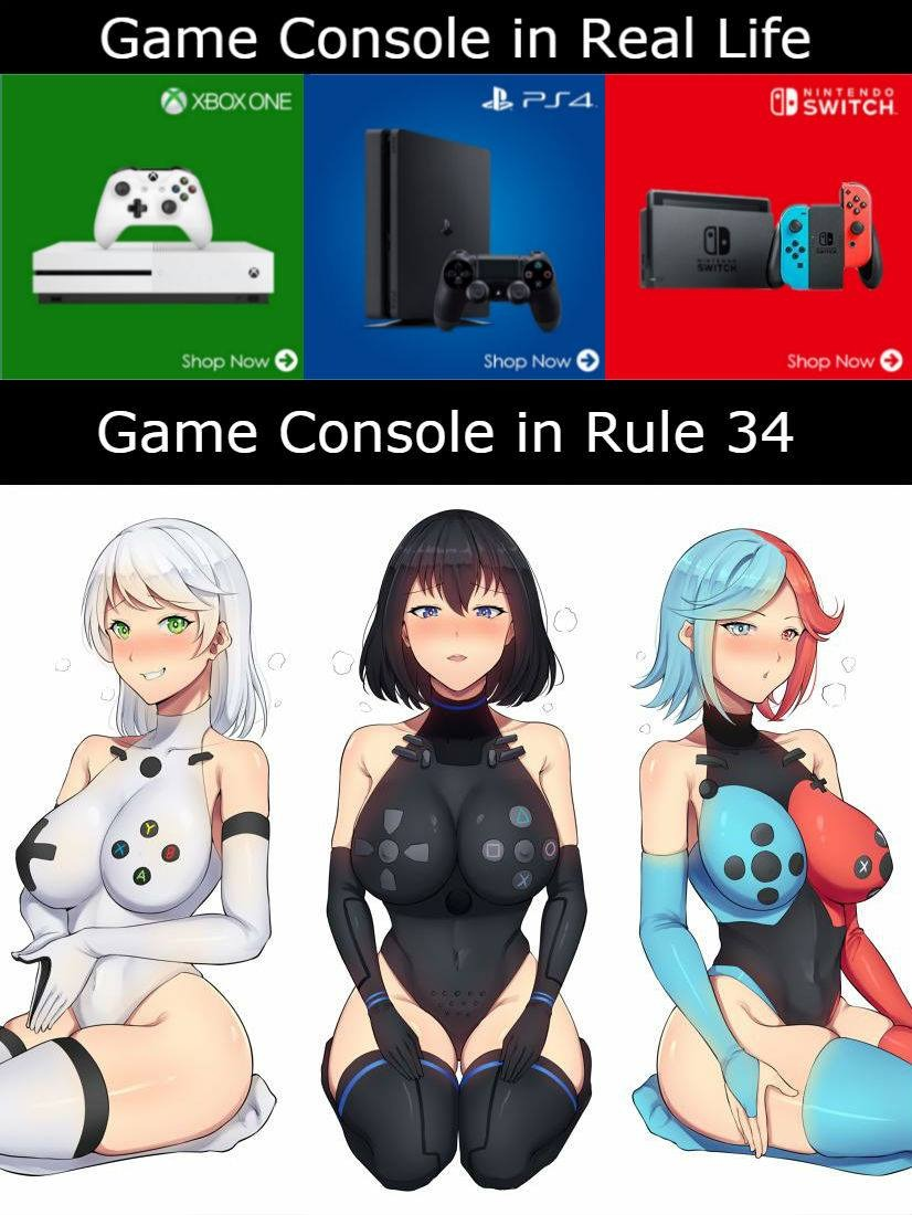 Sex games on game consoles