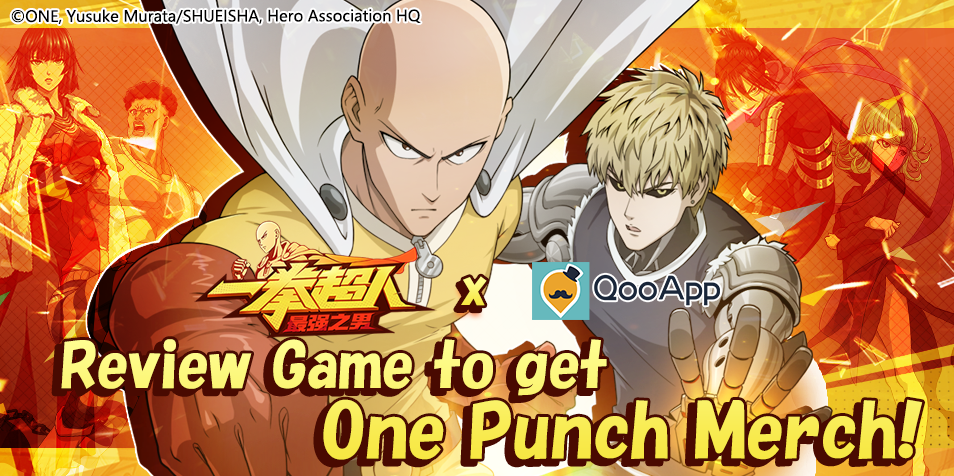 [One Punch Man: The Strongest Man] REVIEW GAME & WIN ONE PUNCH MERCH